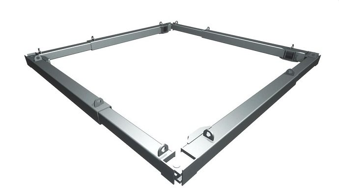 groundworks support equipment for basement construction