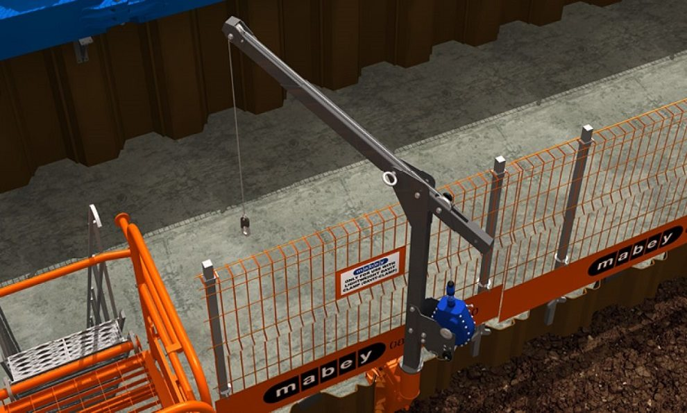 Excavation Fall Arrest System