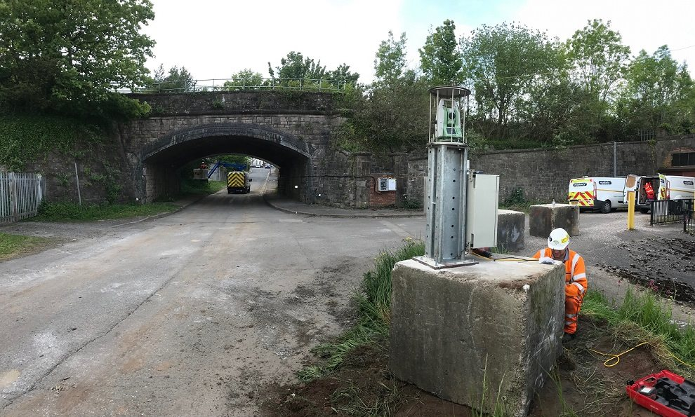 Real time railway bridge monitoring