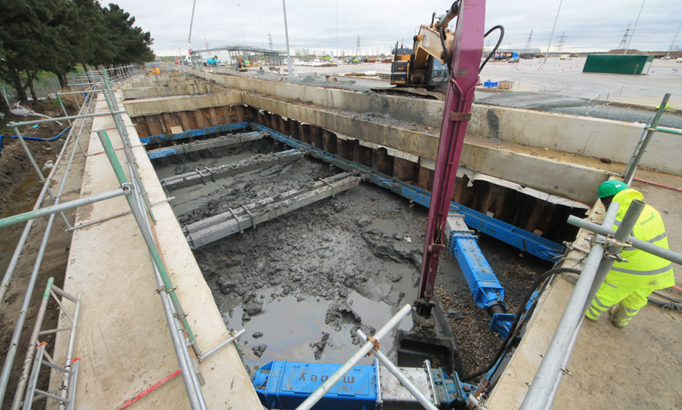 Port of Tilbury groundworks solution